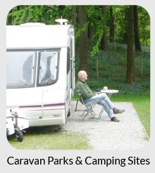 caravan parks and campsites