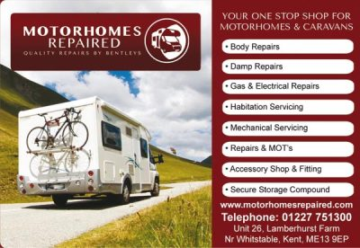Bentleys Motorhomes Body Repair Specialist