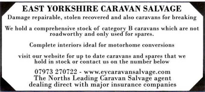 East Yorkshire Caravan Salvage