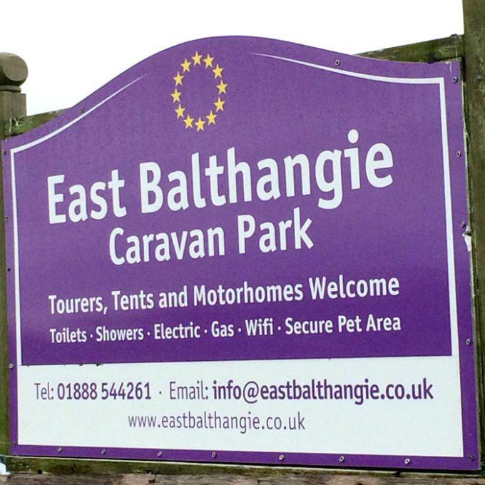 East Balthangie Caravan Park