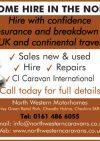 North Western Caravans and Motorhomes